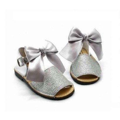 Spanish Glitter Bow Sandal