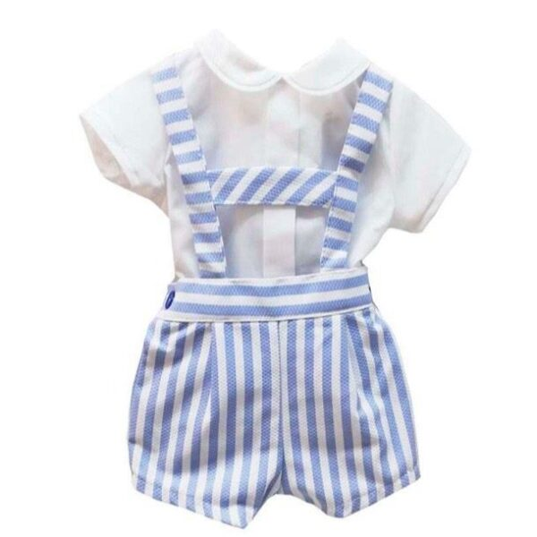 The Albie Dungaree Set