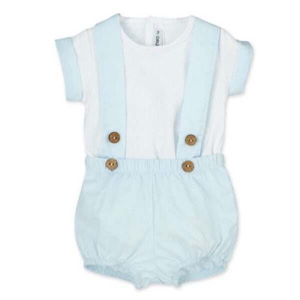 The Myles Dungaree Set