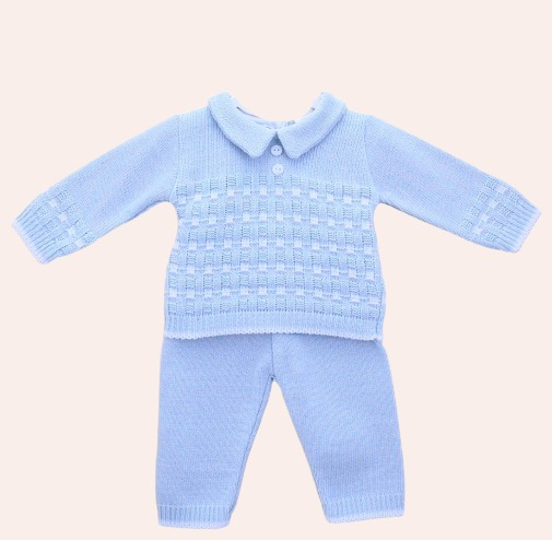 Digby Blue Knit Outfit