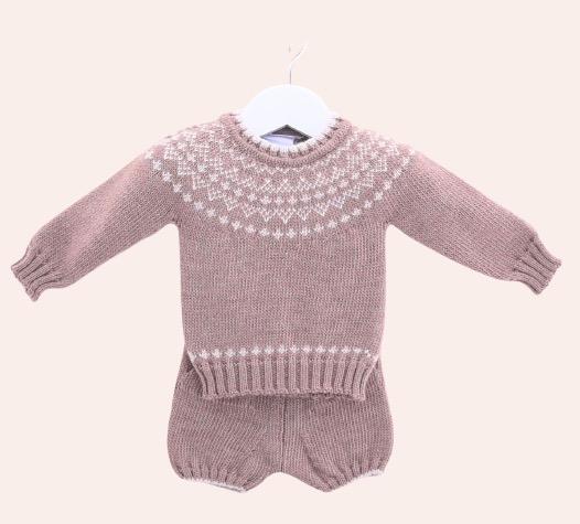 Fairisle Autumn Knit Outfit