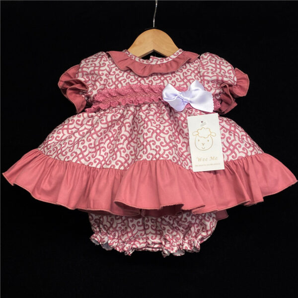 Wee Me Dusky Pink Dress